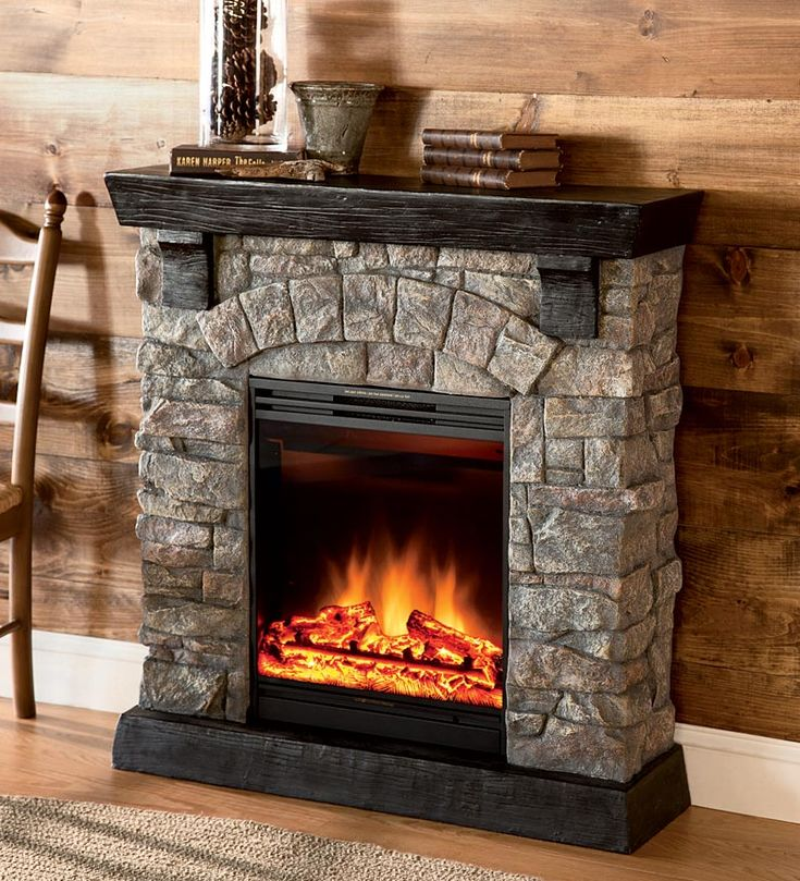 17 Best images about Electric Fireplaces on Pinterest  Electric fireplaces Faux stone and
