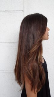 beautiful girls with long brown