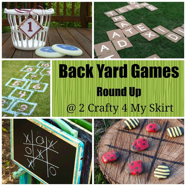 Back yard games (Which ones are you guys playing this weekend? -BtD)