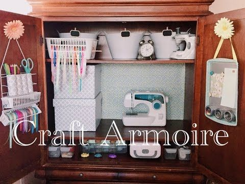 1000+ Ideas About Craft Armoire On Pinterest Craft