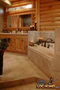 1000+ ideas about Log Home Bathrooms on Pinterest | Log ...