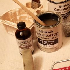 Inexpensive Countertops For Kitchens Kitchen Cabinet Kits Sale Rust Oleum Countertop Transformations Reviews | ...