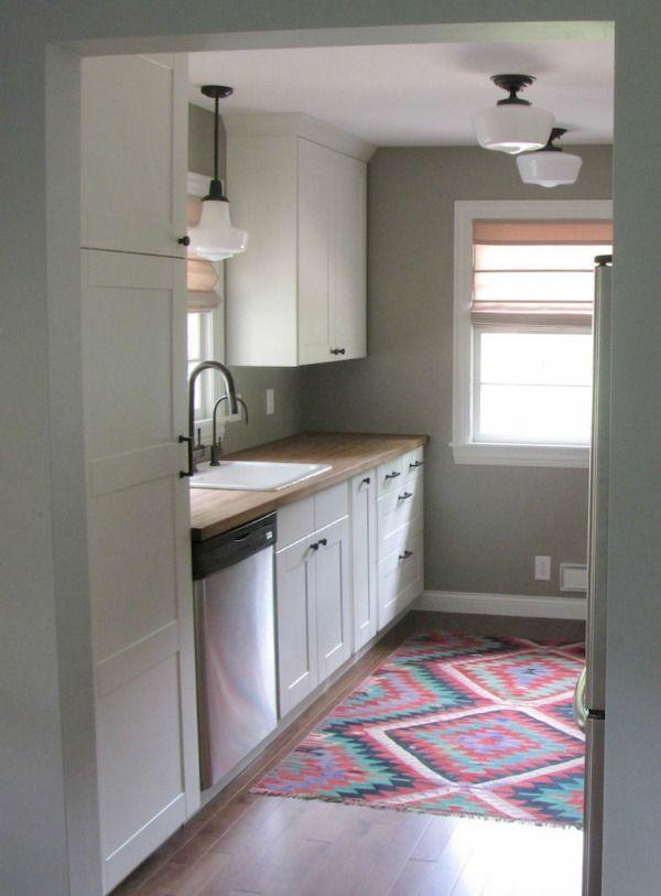 25 best ideas about Ikea galley kitchen on Pinterest