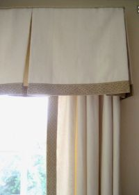 Best 25+ Box pleat valance ideas on Pinterest | Valance ...