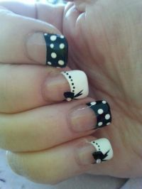 25+ Best Ideas about Bow Nail Designs on Pinterest | Nail ...
