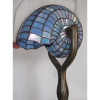 Art nouveau shell lamp. I like this color shell | Art Deco ...