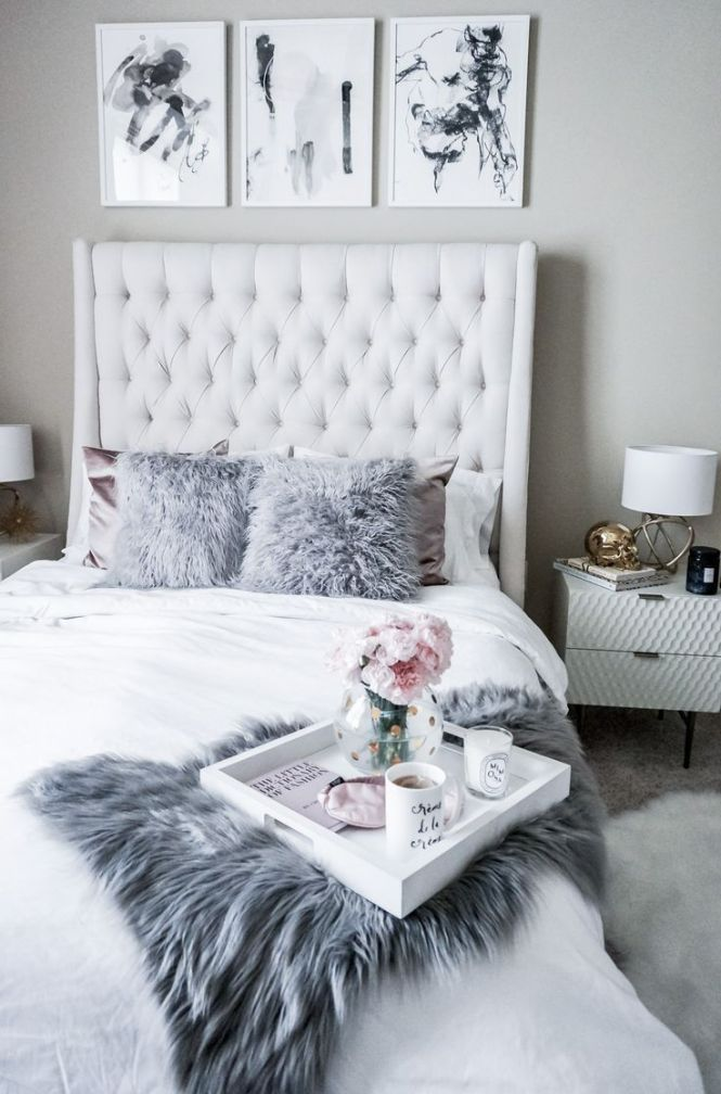 Minted Gray Bedroomwhite