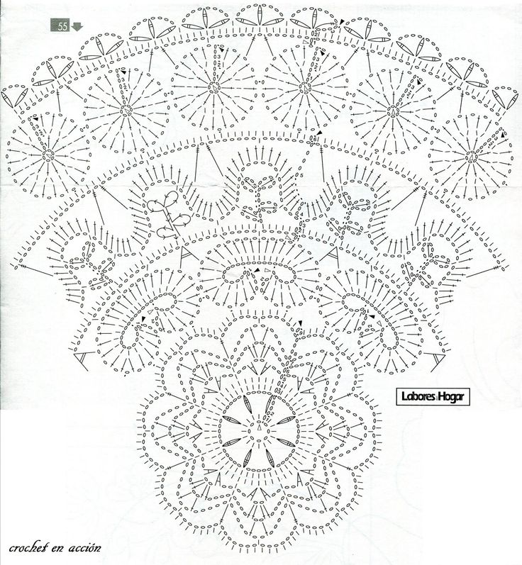 17 Best images about Crochet Doilies-Table Toppers