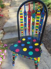 25+ best ideas about Painted chairs on Pinterest | Hand ...