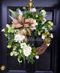 1000+ ideas about Summer Door Wreaths on Pinterest   Door ...