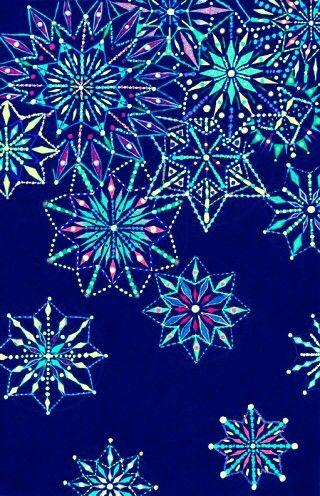 Bing Fall Wallpaper Neon Snowflake Wallpaper Winter Wallpapers Pinterest