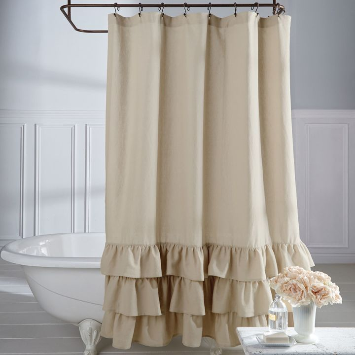 25 Best Ideas About Ruffle Shower Curtains On Pinterest Girl