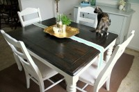 refinished table | Kitchen | Pinterest | Colors, The o ...