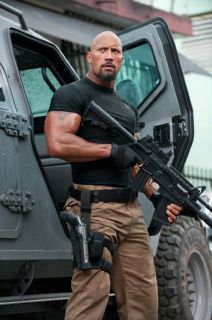 The Rock Dwayne Johnson in Fast Five