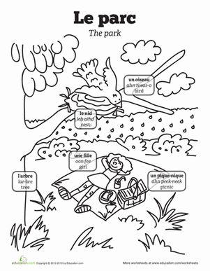All Worksheets » Picture Description Worksheets For Grade
