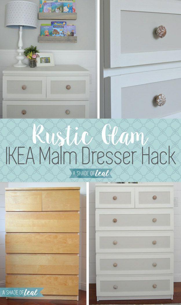 25 best ideas about Ikea dresser makeover on Pinterest