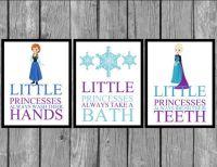 Disney Frozen Bathroom Prints/Frozen Room by ...