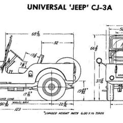 Wiring Diagram Relay Off Road Lights Ao Smith Water Heater Jeep Cj-3a Size Specs. | Info Pinterest Tech, Body Builders And Jeeps