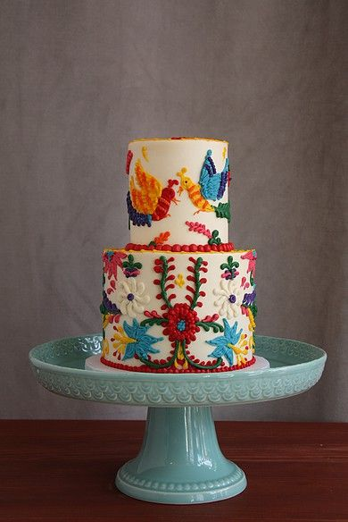 This Is The Most Colorful Baby Shower Cake I Ve Ever Made