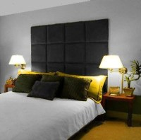 Details about MONACO WALL PANEL LARGE TALL HEADBOARD ...