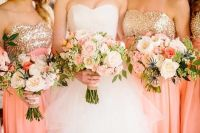 1000+ ideas about Coral Bridesmaid Dresses on Pinterest ...
