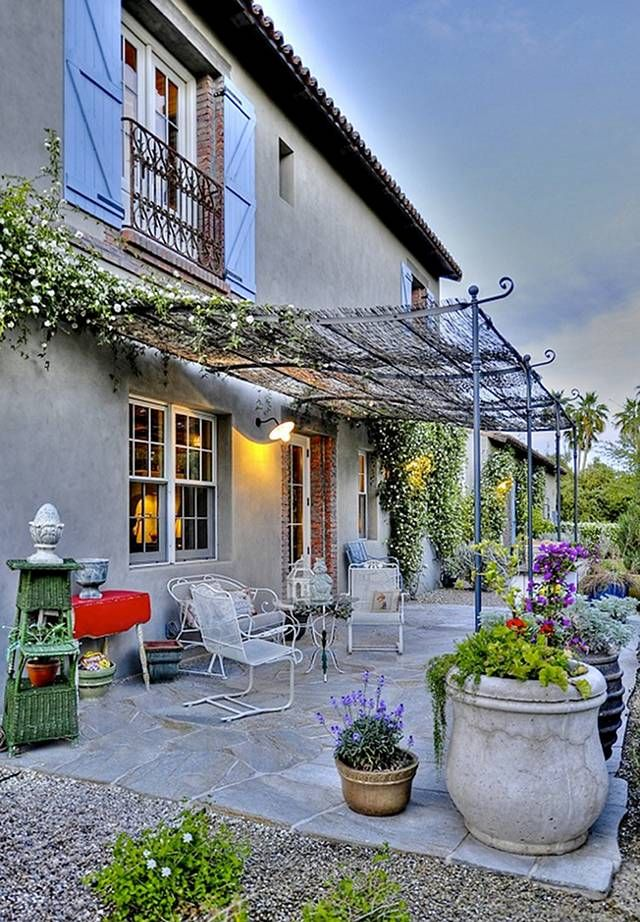 Best 25 French patio ideas on Pinterest