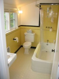 17 Best ideas about Yellow Tile Bathrooms on Pinterest