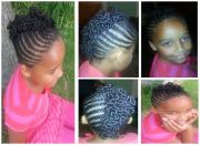mohawk with coils. cute