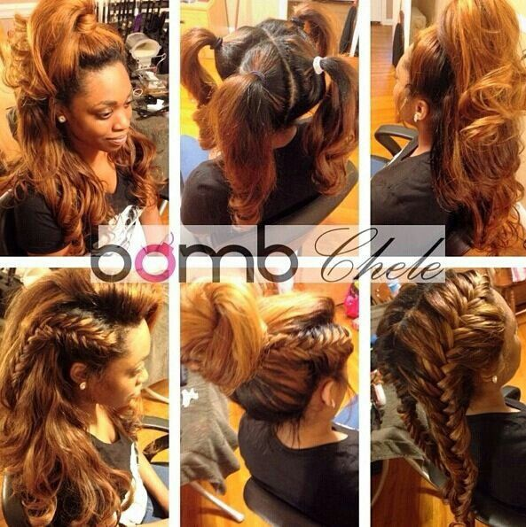 Vixen sew in  Hair  Pinterest  Sew Hairstyle and Hair
