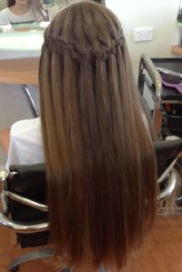 15 Best Waterfall Braid Hairstyles With Pictures | Styles ...