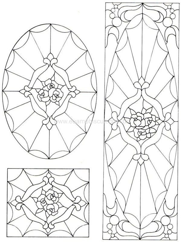 17+ best images about Stained Glass Patterns on Pinterest