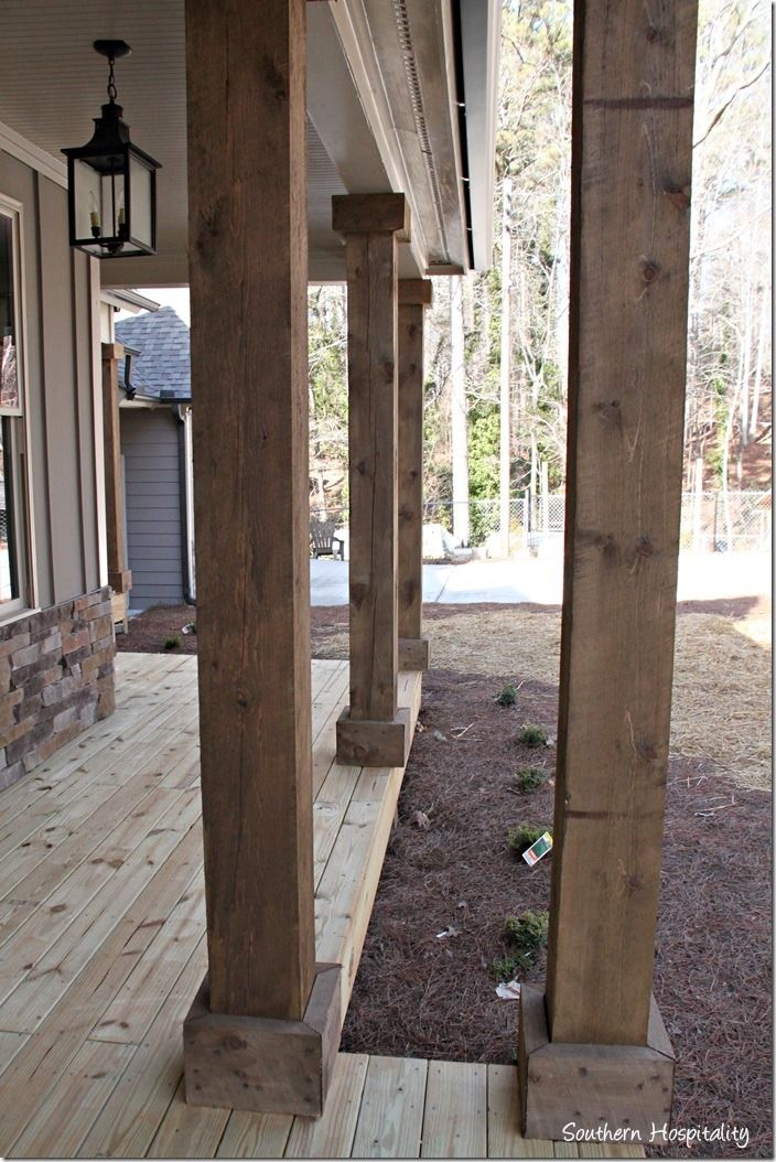 25+ best ideas about Wood columns on Pinterest