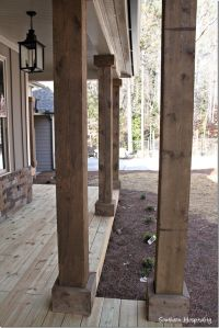 25+ best ideas about Wood columns on Pinterest | Cedar ...