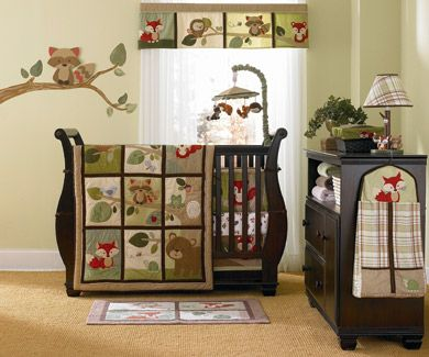 Outdoor Theme Baby Room Forest Animal Nursery Foxley S