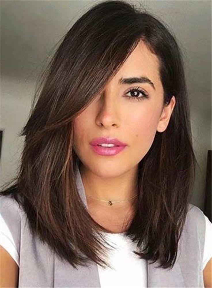 25 best ideas about Medium Straight Hair on Pinterest  Medium straight hairstyles Shoulder