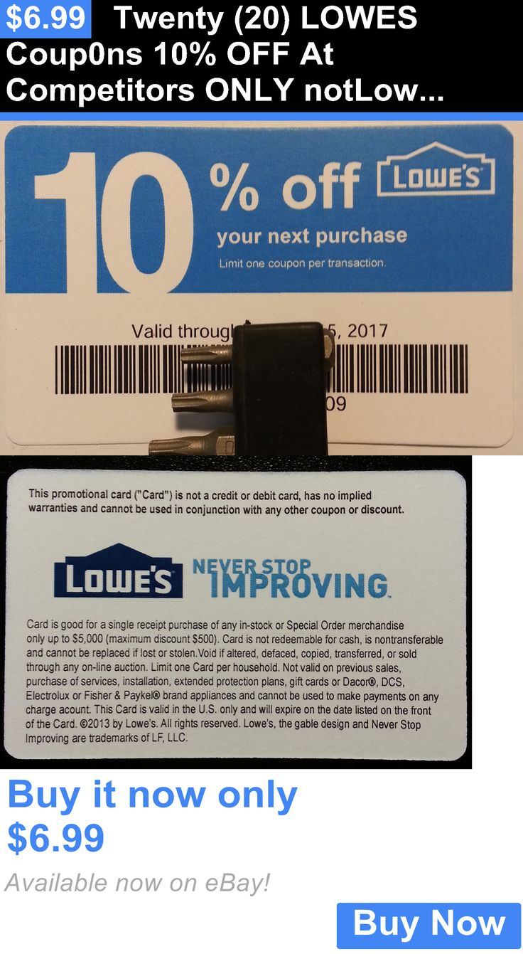 1000 ideas about Lowes 10 Coupon on Pinterest  Lowes coupon Big box store and Lowes promo