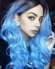blue purple hair ideas