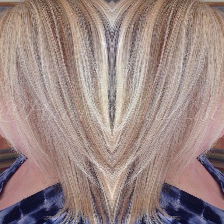 Summer Blonde On My Mom Using Redken 8na 20 Volume At