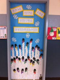 Classroom Door for January | classroom decorating ...