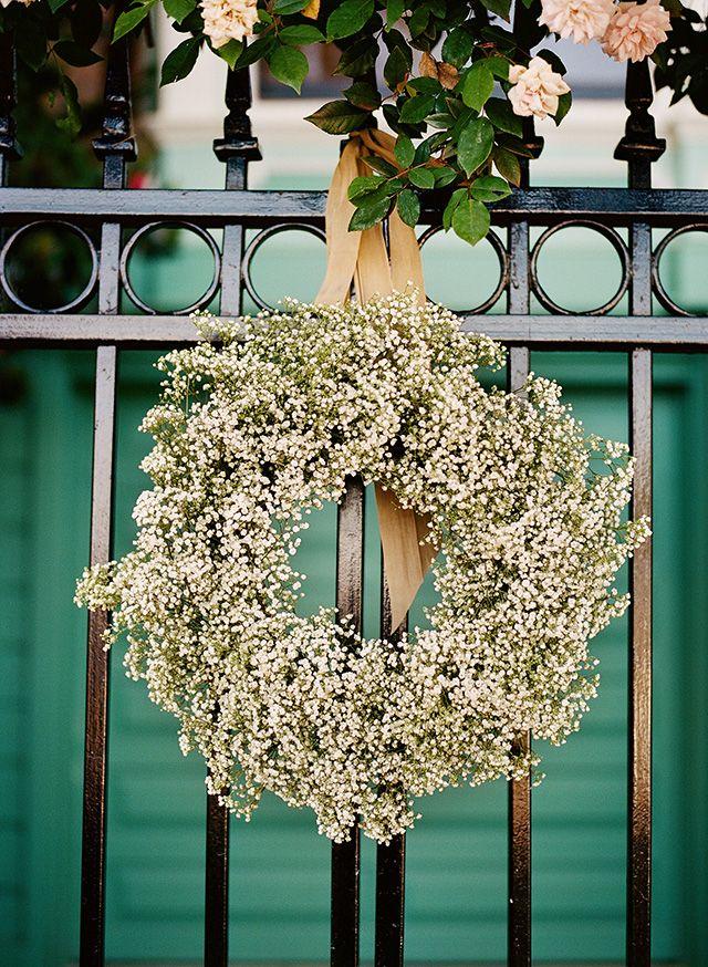 25 Best Ideas about Babys Breath Wreath on Pinterest  White wreath Babys breath floral