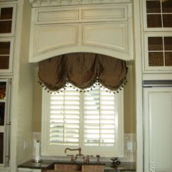 Kitchen Swag Curtains Vintage Islands A Design That Can Work Well With Popular Neo-victorian ...