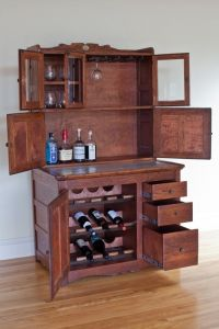 Liquor Cabinet Plans Woodworking - WoodWorking Projects ...