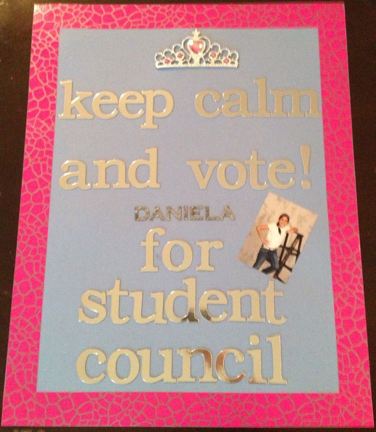 Best Student Council Posters Ever