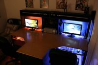 Gaming Bedroom Ideas Furniture Furniture Wooden Gaming ...