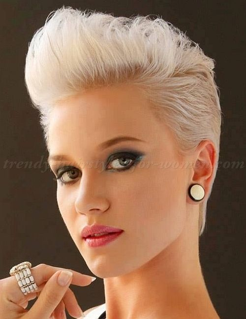 Women's Pompadours A Collection Of Hair And Beauty Ideas To Try