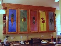 23 best images about Stained glass cabinet doors on ...