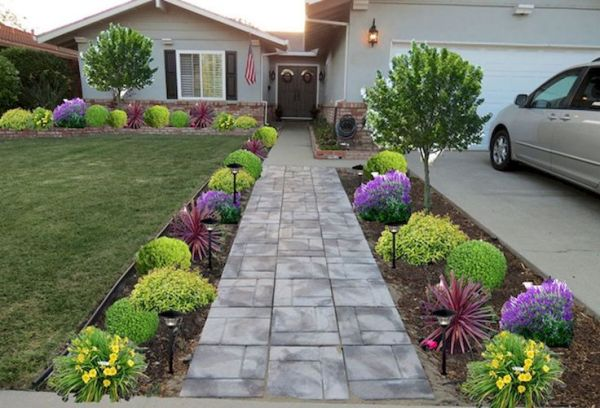 inexpensive landscaping