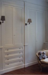 17 Best Louvered Door Ideas on Pinterest | Old shutters ...