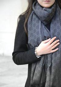 Gucci scarf, Pandora | STYLE | Pinterest | Shawl, Warm and ...