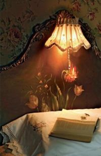 Details about Romantic Victorian Headboard Lamp | Good ...